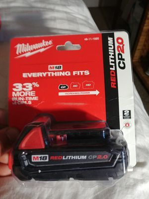 Milwaukee 18v CP 2.0 for Sale in Manassas, VA