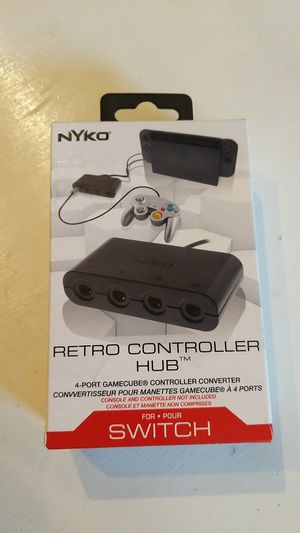 GameCube Controller Adapter for Nintendo Switch for Sale in Everett, WA