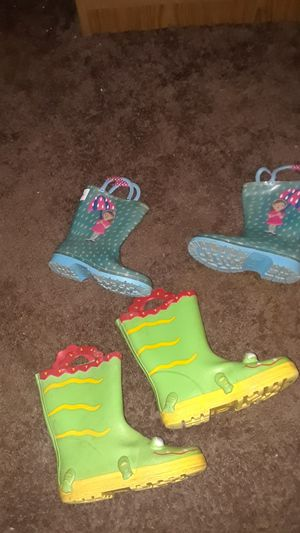 Rain Boots 2 for $15.. for Sale in Moreno Valley, CA