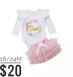 """""""One"""" Birthday Outfit 🎂 for Sale in Whittier,  CA"""