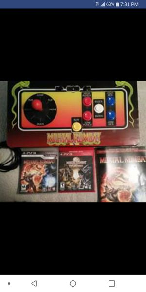 Mortal Kombat Arcade Joy Stick with games and cheat codes for Sale in Fort Worth, TX