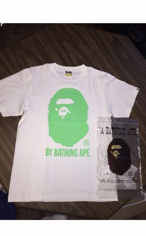 100 percent authentic Bape T-shirt XXL fits like US XL for Sale in Belleville, IL