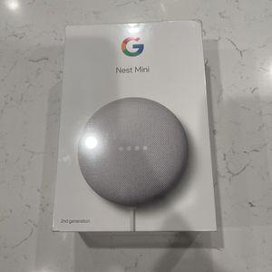 Google Nest Mini - Brand New for Sale in Ladera Ranch, CA