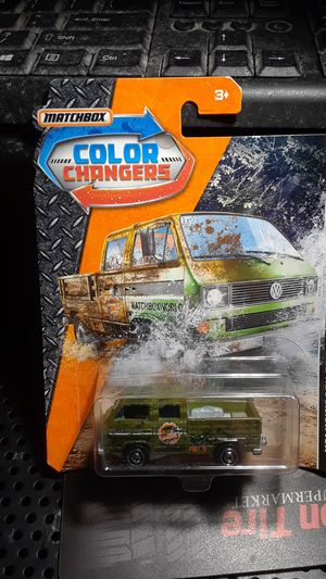 Matchbox color changers Volkswagen transporter scale 1:64 toy for Sale in Mount Vernon, NY