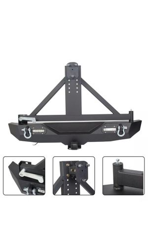 Jeep Wrangler tire carrier for Sale in Addison, IL