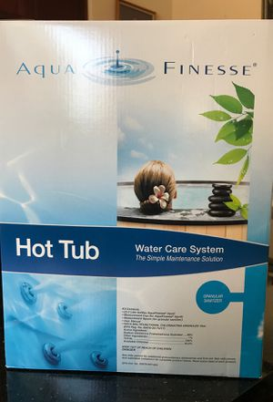 Aqua Finesse hot tub water care system for Sale in San Marcos, CA