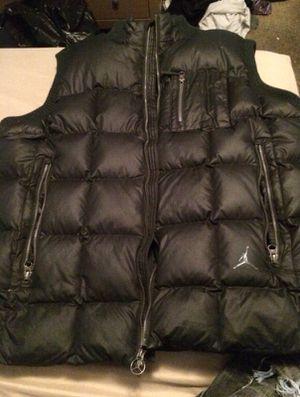 Air Jordan men's XL black vest for Sale in Oxon Hill, MD