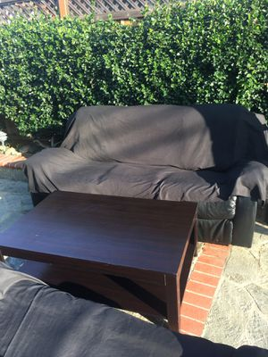 Recliner w/ coffee table for Sale in Santa Clara, CA