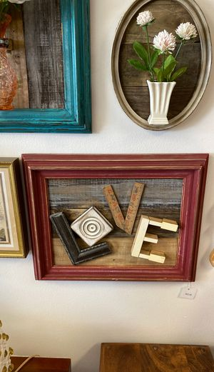 LOVE creative wall hanging for Sale in Port Charlotte, FL