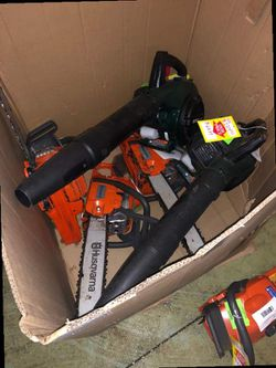 Chainsaw and blowers DI for Sale in China Spring,  TX
