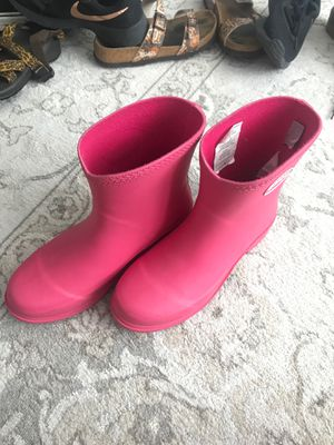 WOMENS PINK RAIN BOOTS for Sale in Provo, UT