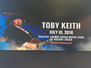 Toby Keith lawn ticket for Sale in Cary, NC