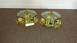 2 gold lights for Sale in Traverse City, MI