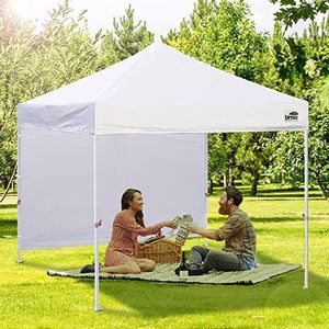 Pop up Canopy w/ 1 Removable Sunwall and Backpack Roller Bag 10'x10'⛺️ for Sale in Aurora, CO