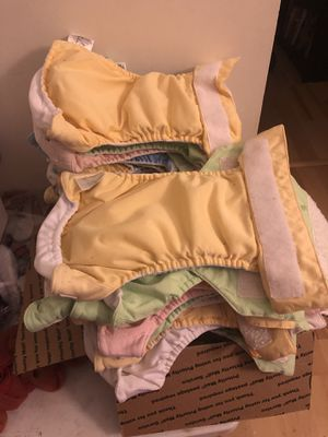 Bum Genius one size cloth diaper for Sale in Virginia Beach, VA