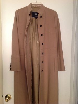 Burberry long jackets looks new size its 8-10 for Sale in Oakton, VA