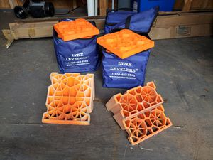 camper leveling blocks and drain tubes for Sale in Seymour, CT