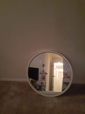 White wall mirror for Sale in Fairfax, VA