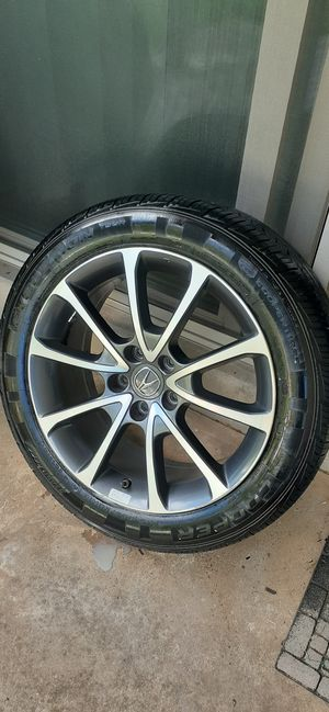 Acura rims and tires,#18 for Sale in Gaithersburg, MD