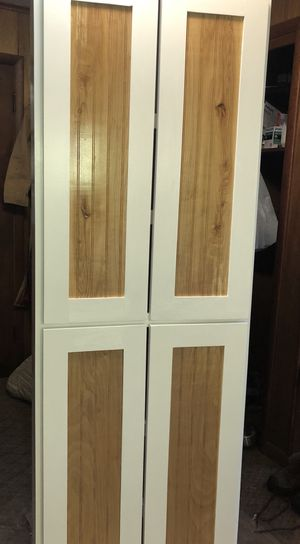 CUSTOM MADE PANTRY UNITS WITH ADJUSTABLE SHELVING for Sale in Hart, MI