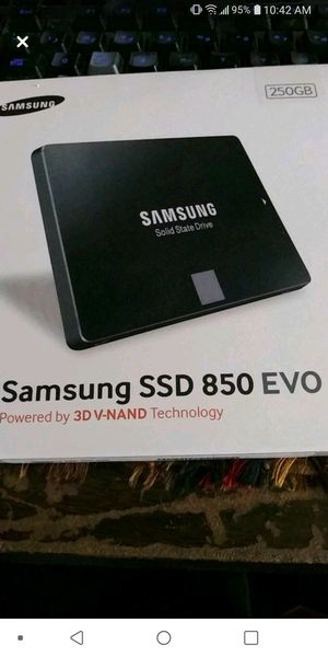 Samsung 250 gb ssd for Sale in Shiremanstown, PA