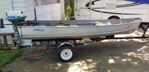 "Alumacraft 13'8"" V-Bow Boat for Sale in UPPER ARLNGTN, OH"