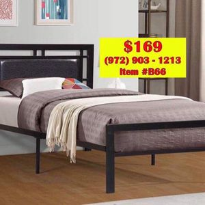 BED🛌INCLUDED MATTRESS (( FREE DELIVERY))📦🚚 for Sale in Garland, TX