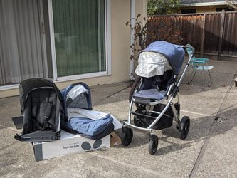 2014 Uppababy Vista With Bassinet And RumbleSeat for Sale in Los Altos,  CA
