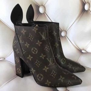 LV Louis Vuitton Heel Boots **SHIPPING ONLY** AUTHENTIC for Sale in Partlow, VA