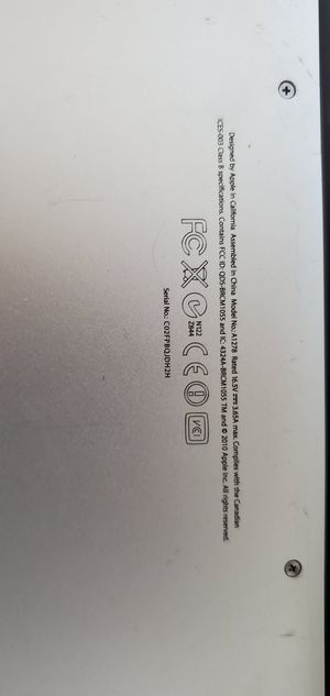 Selling MacBook Pro for Sale in Fort Lauderdale, FL