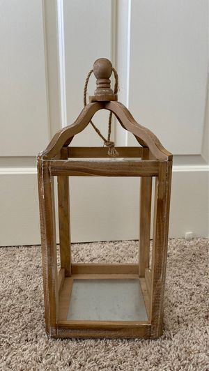 Hobby lobby Rustic Cottage Collection~CANDLE HOLDER~ for Sale in Lodi, CA