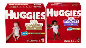 Huggies Plus Diapers Sizes 1 - 6 for Sale in Newington, CT