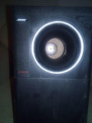 Bose bass speaker for Sale in Visalia, CA
