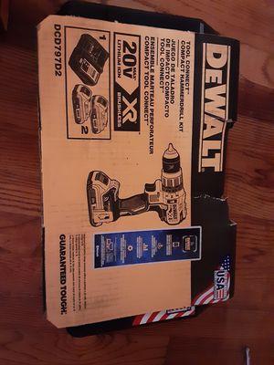 Dewalt compact hammerdrill kit for Sale in Durham, NC