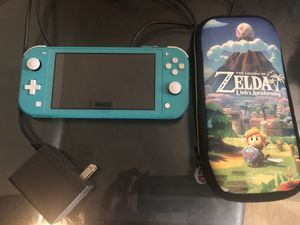 Nintendo switch light ,case , charger for Sale in Las Vegas, NV