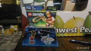 Lego Dimensions Wonder Woman and Invisible Jet for Sale in Auburn, WA