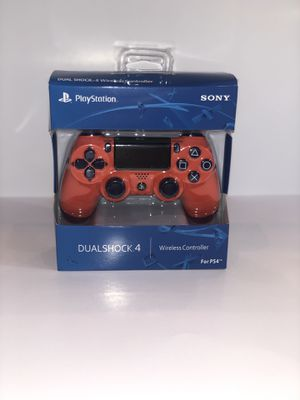 Brand New Sunset Orange PS4 Dualshock 4 Wireless Controller for Sale in Lincoln, NE