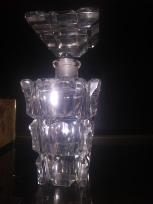 ANTIQUE BOHEMIAN CUT CRYSTAL PERFUME BOTTLE for Sale in Tampa, FL