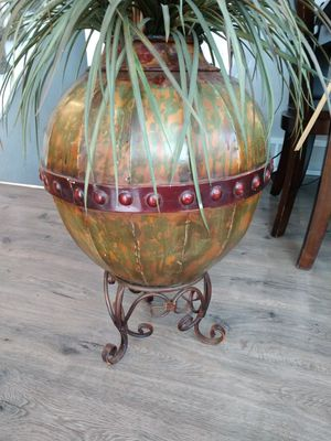 Bamboo fake plant with Metal Base for Sale in Arvada, CO