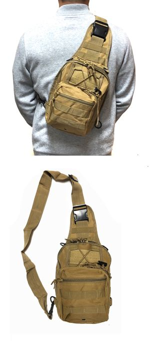 NEW! Tactical military style Side Bag Cross body bag backpack sling pouch chest bag camping hiking day pack shoulder travel bag for Sale in Long Beach, CA
