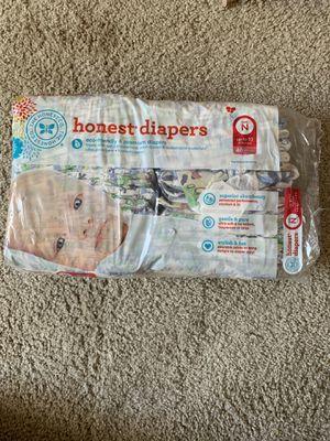 Newborn honest diapers for Sale in Yorba Linda, CA
