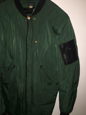 Diesel Parka jacket size L run small $50 for Sale in Philadelphia, PA
