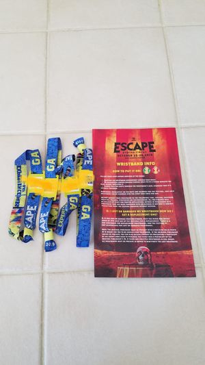 2 day GA INSOMNIAC ESCAPE - Psycho Circus general admission tickets for Sale in Fontana, CA