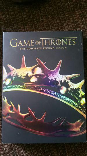 Game of Thrones season 2 DVD set s for Sale in Hazlehurst, GA