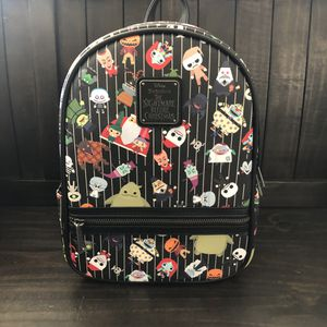 Disney Parks loungefly nightmare before Christmas backpacj for Sale in Rancho Cucamonga, CA