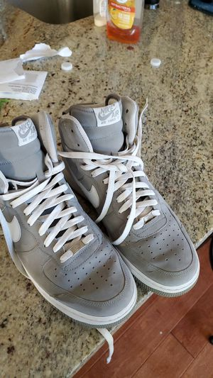 Grey nike air force ones grey 10.5 for Sale in Beaverton, OR