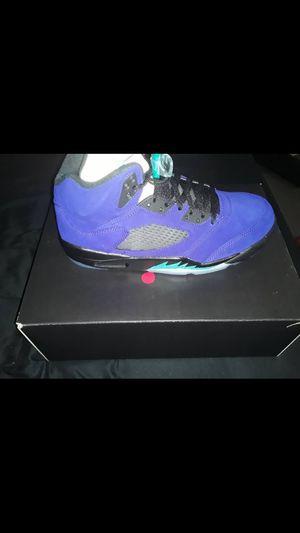 Jordan 5 grape for Sale in Dallas, TX