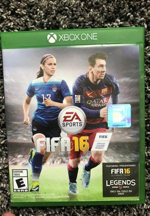 Xbox one FIFA 16 for Sale in Lincoln, NE