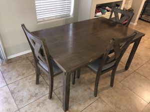 Kitchen table w/ chairs and bench for Sale in Mesa, AZ