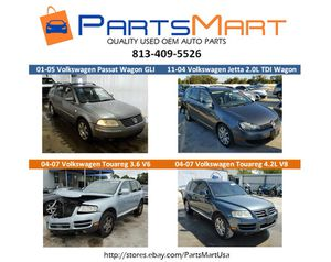 Volkswagen Touareg Passat Jetta OEM USED PARTS for sale for Sale in Tampa, FL